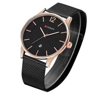 current gents wrist watch-black