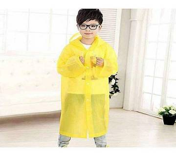 Polyester Rain Coat - Yellow