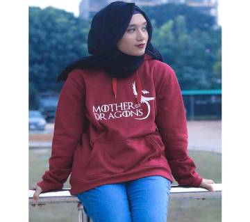 Mother Woolen hoodie for Ladies