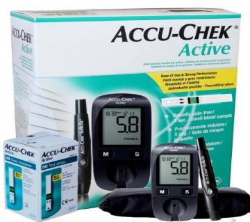 Accu-Chek Active 4G Blood Glucose Monitoring Machine