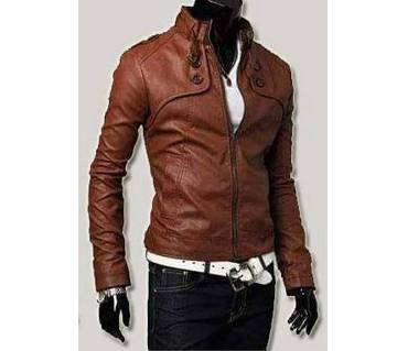 Sweet Color Fitting Pure Leather Jacket