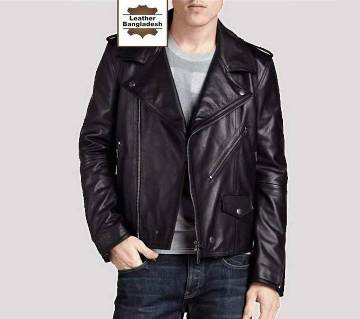 YOUNG BIKER LEATHER JACKET