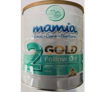 Mamia Gold Follow on Infant Formula 900 gm-From 6 Months (Australia)