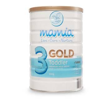 Mamia Gold Toddler Premium Milk Drink-900 gm (Australia)