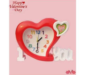 Multifunction Switch Love Table Clock