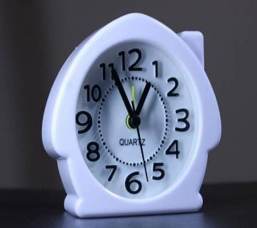 House shaped clock