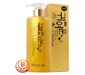 L-Glutathione gold wash white moisturizing lotion skin whitening cleanser 280ml - Korea