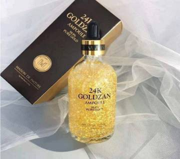 24K Goldzan Ampoule Pure Gold Serum - Korea
