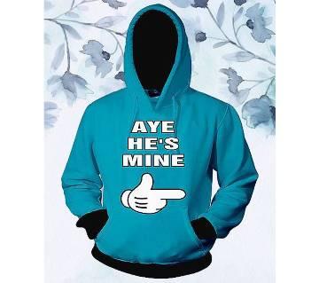 Womens Stylish Hoodie -Aye Hes Mine  FAS