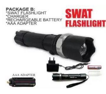 Multifunction Rechargeable LED Flashlight