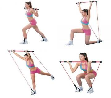 পোর্টেবল pilates স্টুডিও workout উইথ ডিভিডি