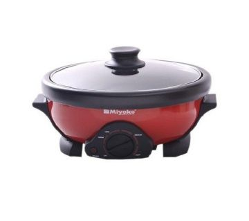 Miyako Curry Cooker Red and Black-250