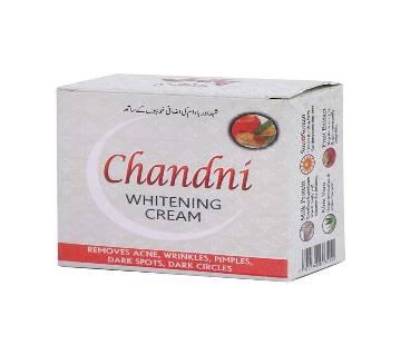 Chandni Whiting Cream 50gm - Pakistan