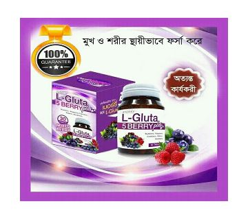 L-Gluta 5 Berry Whiting 30 Capsule