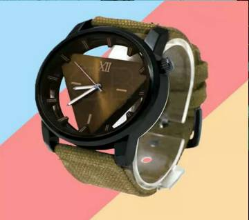 Triangle Dial Menz Wrist Watch