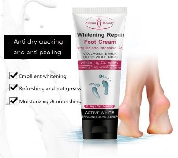 Aichun Beauty Whitening Foot Repair Cream 100ml - UAE