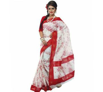 Exclusive Tant Cotton Saree - For Women