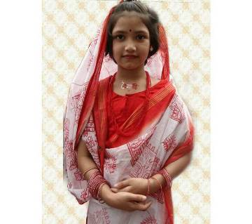 Boishakhi Baby Cotton Saree