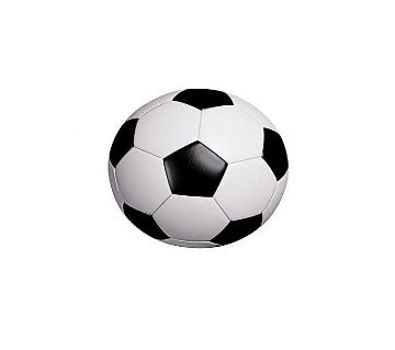 Football - Size 5 - White and Black