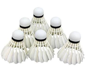 12 Pcs Golden Wing Badminton Shuttlecocks Feather