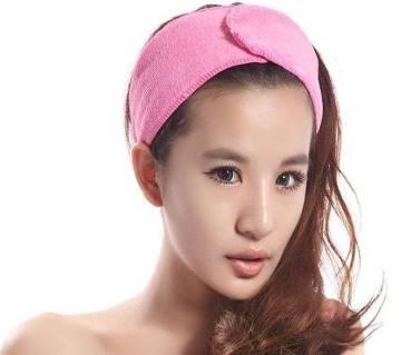 Facial Head Band - Pink