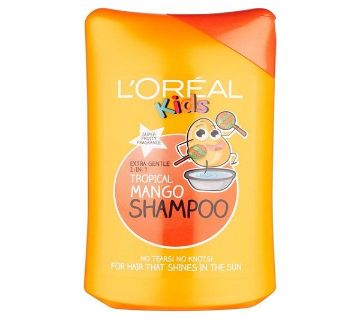 Loreal Paris Kids Shampoo Tropical Mango 250ml Uk