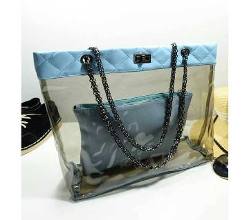 Ladies Transparent Vanity Bag