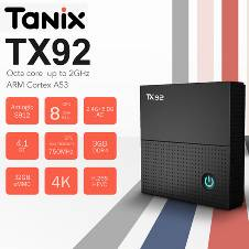 Tanix TX92 Amlogic S912 DDR4 3G 32G Tv box