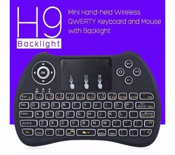 H9 Mini Wireless Keyboard with Back light