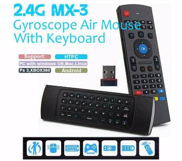 MX3 Air Mouse with Keyboard
