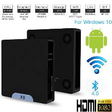 X5 Mini PC TV Box 64bit Win10+Android 5.1 Dual OS