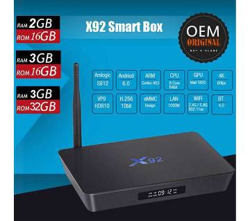 X92 Amlogic S912 Octa Core Android 7.1 TV Box