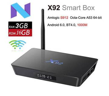 X92 Amlogic S912 Octa Core Smart Mini PC 4K 3D Kod