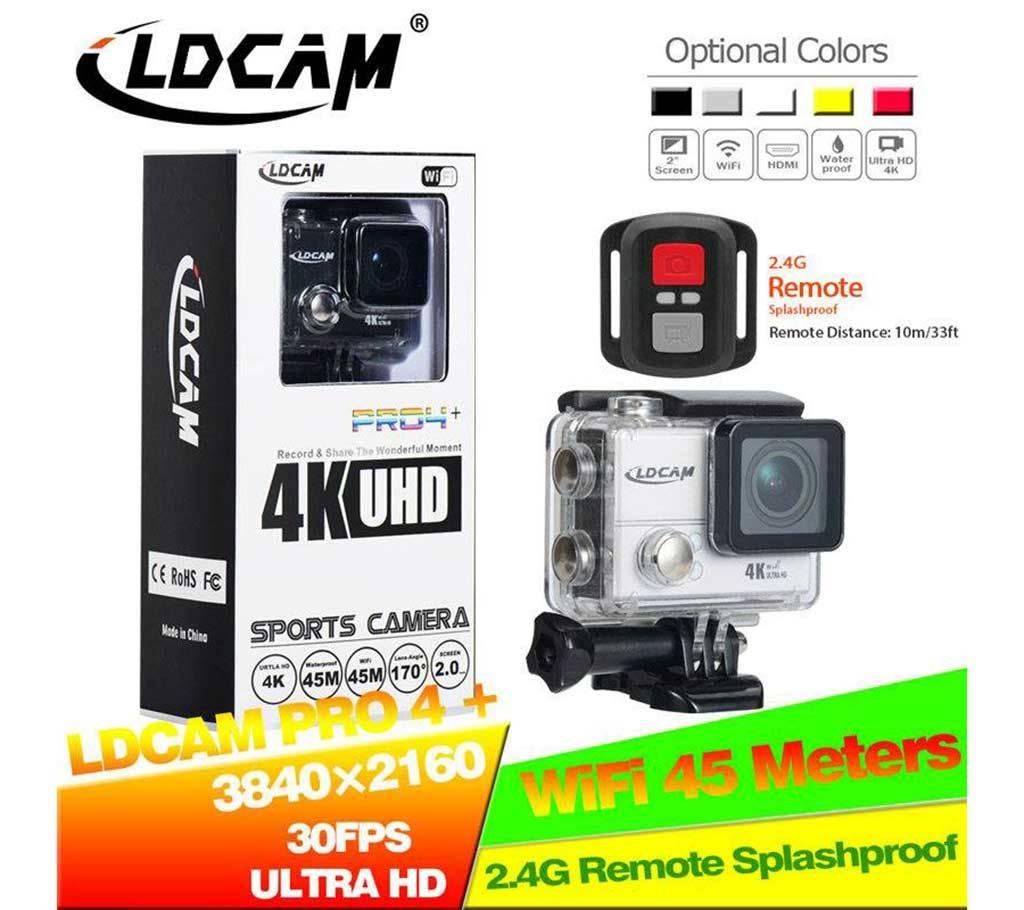 LDCAM PRO4 PLUS WiFi 4K ক্যামেরা (20MP) বাংলাদেশ - 523115