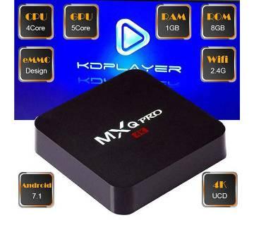 Original MXQ Pro Android 7.1 Nougat 4K tv box