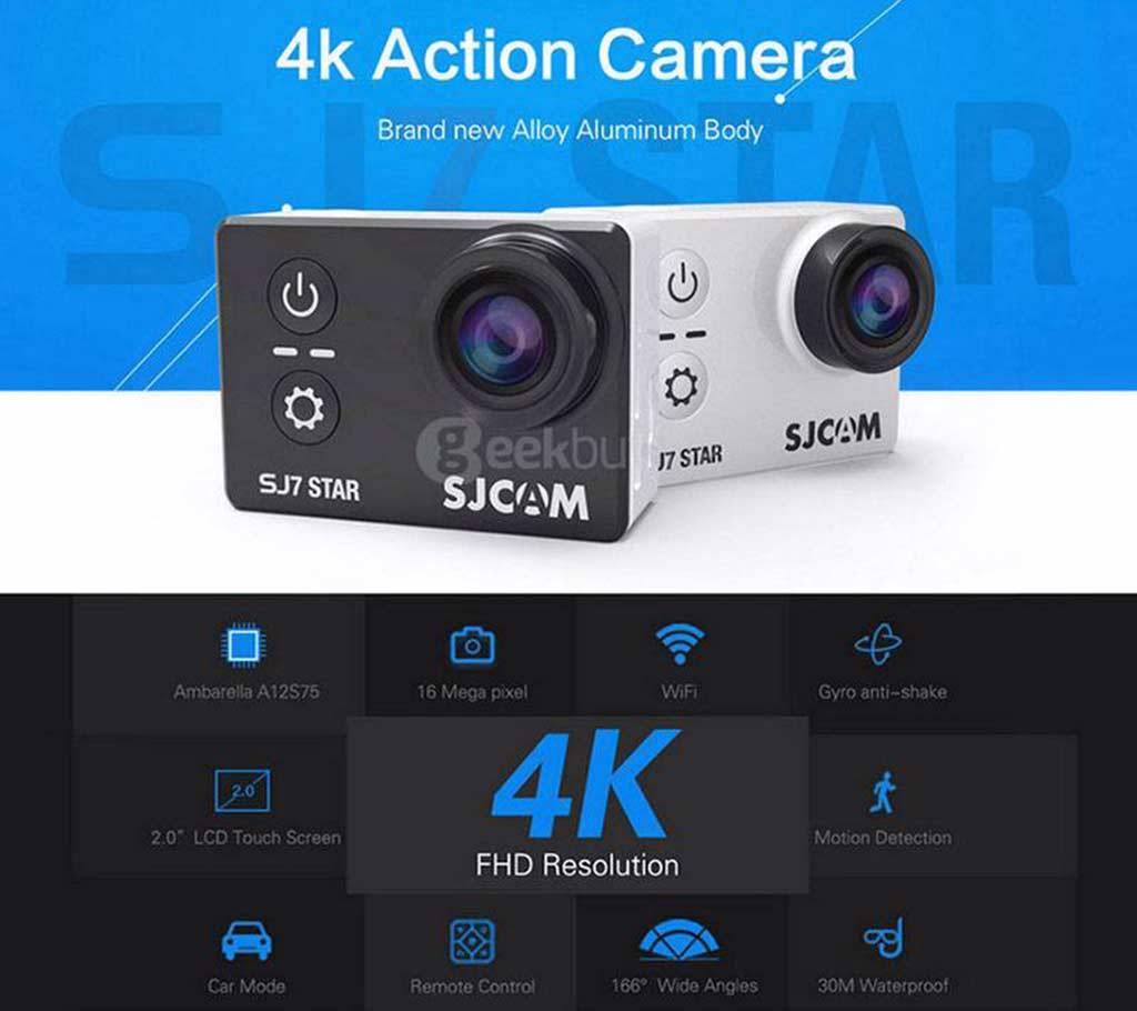 SJCAM SJ7 STAR 4K অ্যাকশন ক্যামেরা বাংলাদেশ - 540504