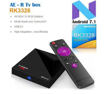 RK3328 Android 7.1 Quadcore R-TV BOX MINI+