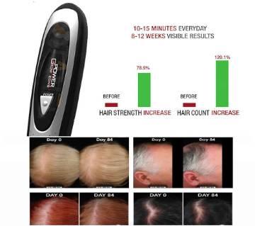 Laser Comb Brush Hair Loss Hair Growth Treatment Kit