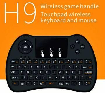 H9 Mini Wireless mouse cum Keyboard