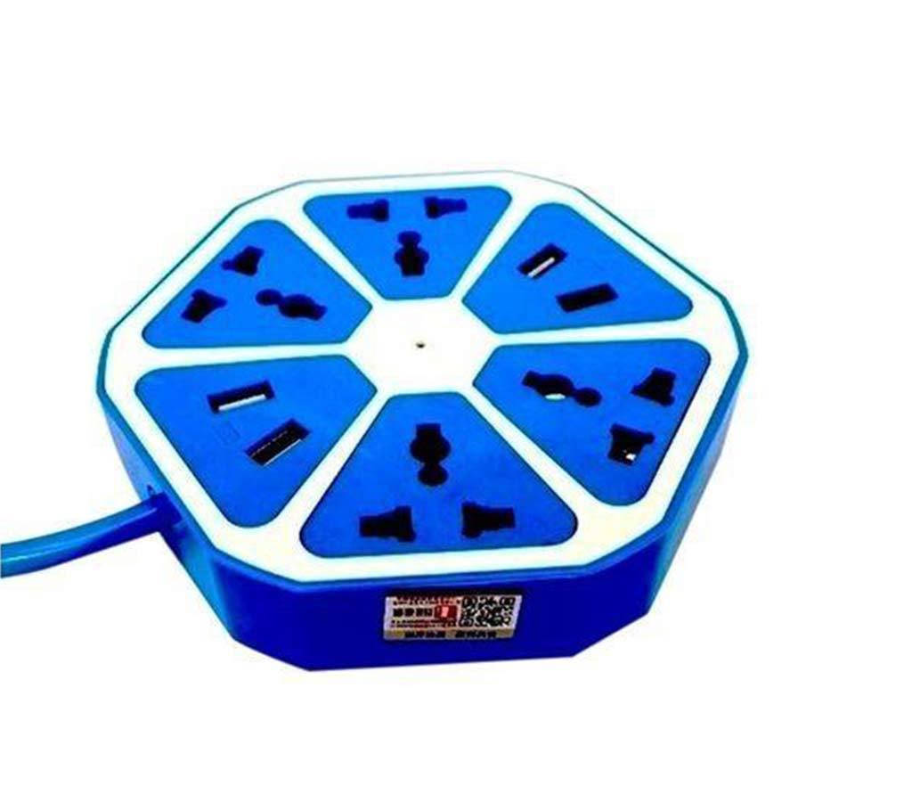 হেক্সাগন মাল্টিপ্লাগ উইথ ৪ USB পোর্ট বাংলাদেশ - 875964