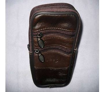Leather Waist Carrying Bag - Malaysian Leather