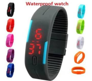 Led Waterproof Silicone Watch-C: 0279.