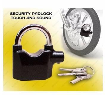 Anti-Theft Padlock Bike/Door Alarm Lock