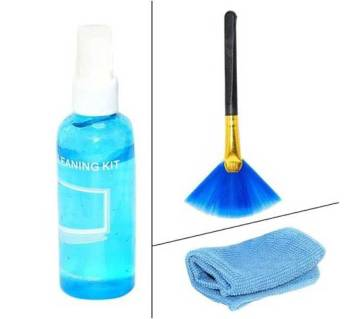 3 In 1 Lcd Screen Cleaning Kit with Liquid