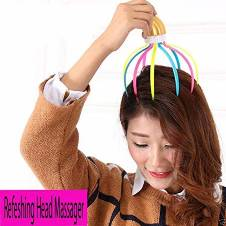 Refreshing 9 Claw Head Massager