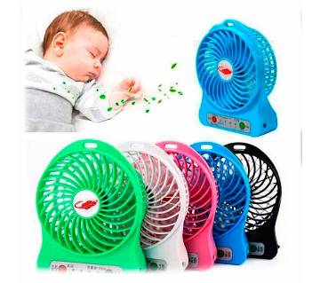 Portable Mini Rechargeable Fan- 1 pc
