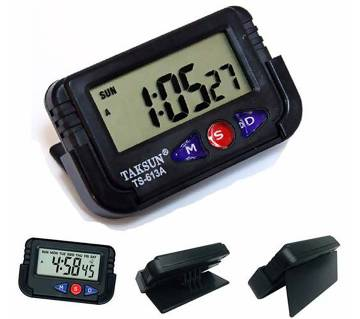 Taksun Quartz LCD Clock Stopwatch