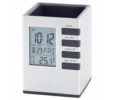 Cube Desk Stand Clock