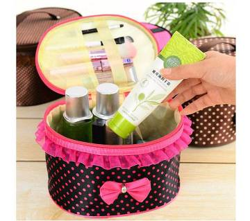 Bow Storage Bag Cosmetics Organizer