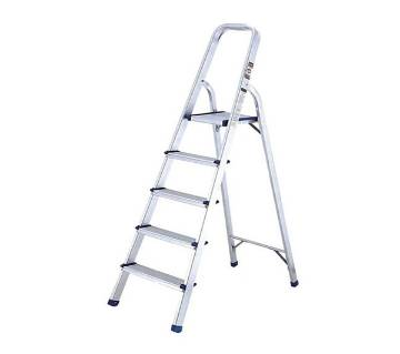 Single Side Aluminium 5-Step Stepladder